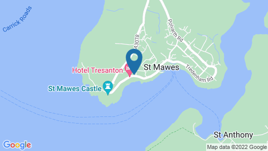 Hotel Tresanton Map