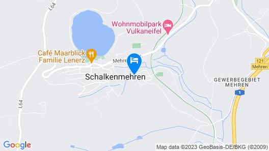 Hotel Eifellust Map