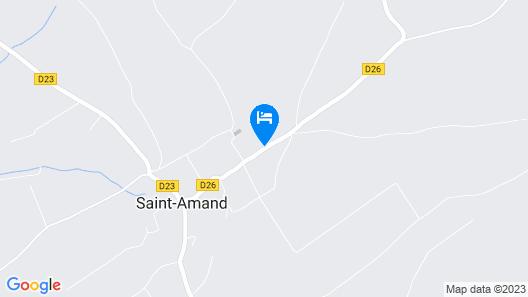 Cottage au Calme Map