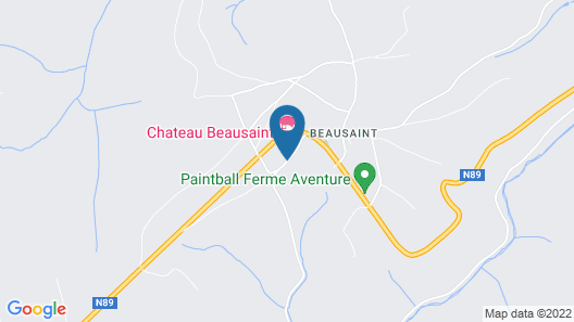 Chateau Beausaint Map