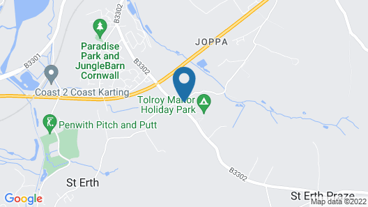 Tolroy Manor Holiday Park Map