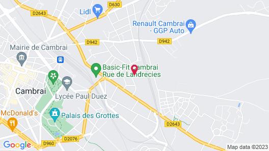 Domitys Cambrai - Le Parc de Saint-Cloud Map
