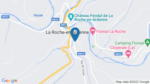 Peaceful Child-friendly Holiday Home in La Roche-en-ardenne Map