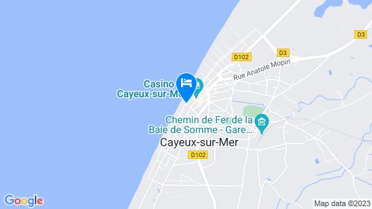 Madame Vacances Residence Les Terrasses de la Plage Map