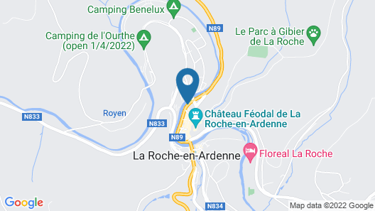Cottage in the Historic Center of La Roche en Ardenne Map