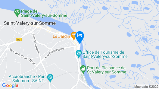 Hôtel du Port et des bains Map