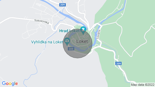 Vacation home Podhradí in Loket - 10 persons, 3 bedrooms Map