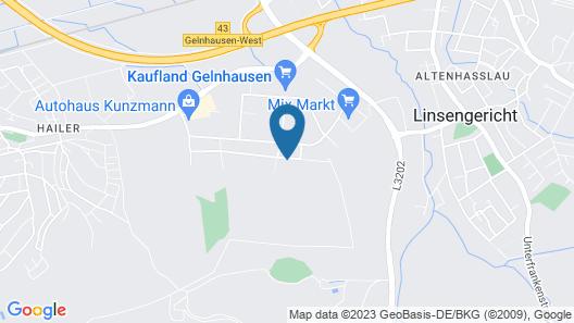 Hotel Am Spielacker Map