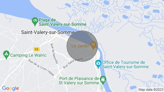 Maison vue Baie en Plein Coeur de la Ville Map