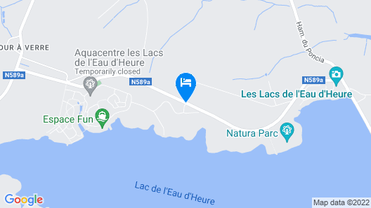 Best Western Plus Golden Lakes Hotel Map