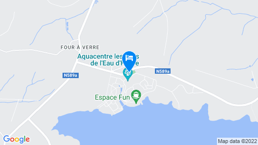 Golden Lakes Village Map