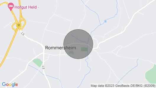Fewo Oase Feinen, Rommersheim / Eifel Map