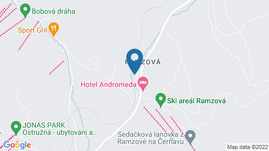 Chalupa Ramzová Map