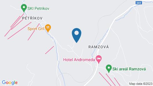 Apartmány Ramzová Map