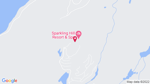 Sparkling Hill Wellness Resort and Spa - Adult Only Resort Map