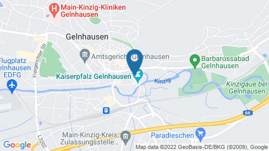 Hotel-Restaurant Burgschaenke Map