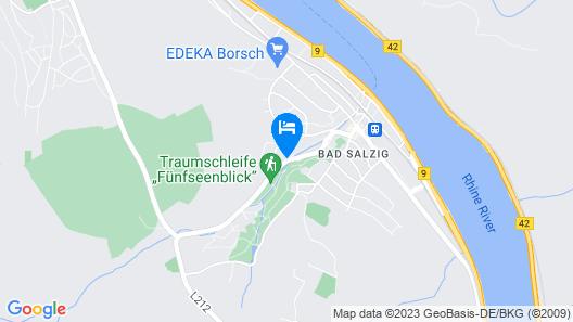 Park Hotel Bad Salzig Map