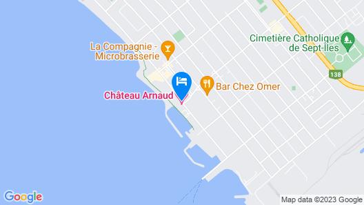 Château Arnaud Map