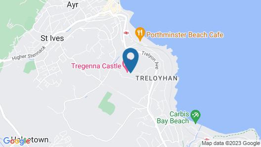 Tregenna Castle Resort Map