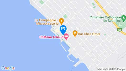 Hôtel Sept-Îles Map