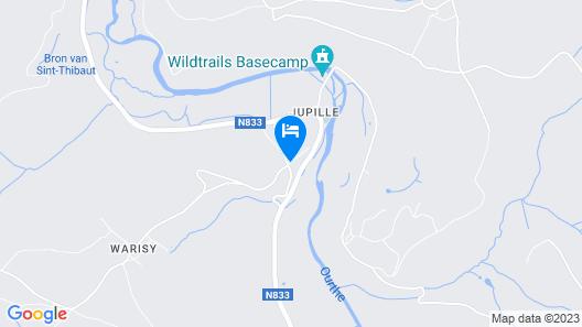 Les Tilleuls Hotel Map
