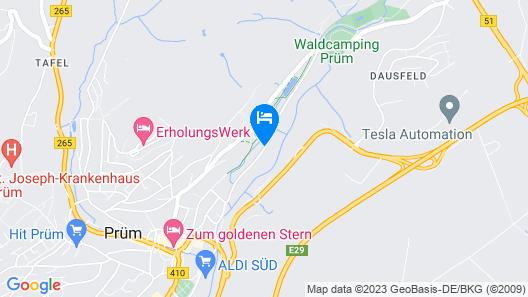 Waldcamping Prüm  Map