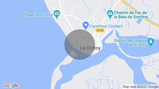 Residence de la Plage, Le Crotoy Map