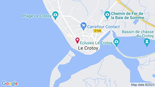 Résidence Pierre & Vacances Premium Résidence de la plage Map