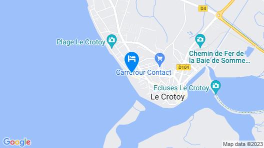 Villa les embruns Le Phare Map