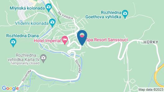 Spa Resort Sanssouci Map