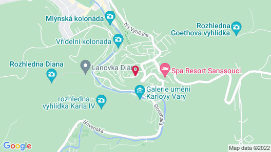 Spa Hotel Imperial Map
