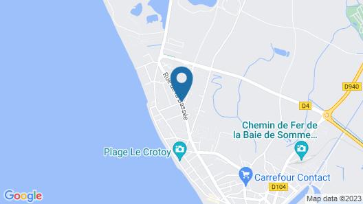 Résidence Odalys Les Villas de la Baie Map