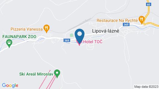 Penzion Chiranka Map