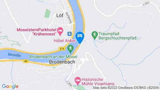 Ferienwohnung Moselschön Map