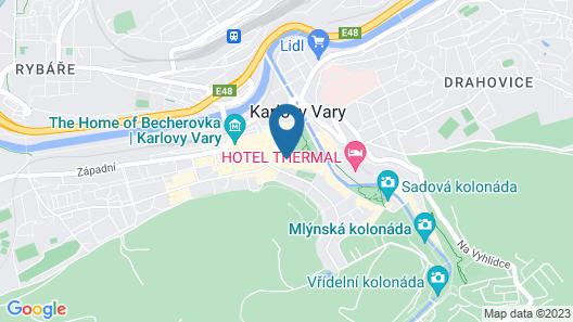 Apartment No. 25 T.G. Masaryka 13 Map