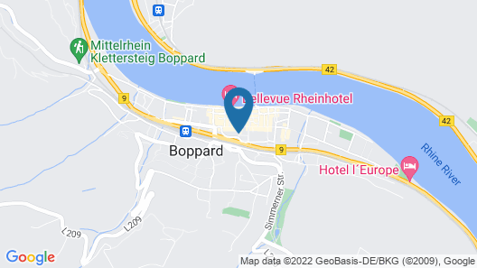 Hotel Sonnenhof garni Map