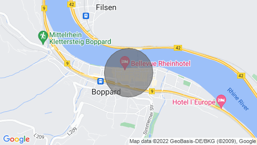Apartment in the Heart of Boppard Map