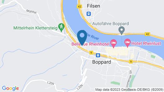 Ferienwohnungen Niedersburger Eck Map