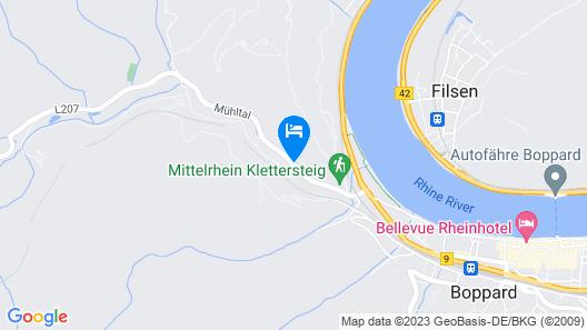 Hotel Bergschlößchen Map
