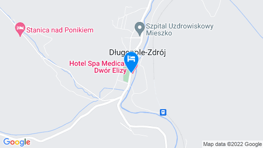 Hotel Spa Medical Dwór Elizy Map