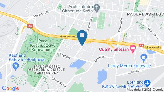 Park Hotel Diament Katowice Map
