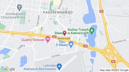 Campanile Katowice Map