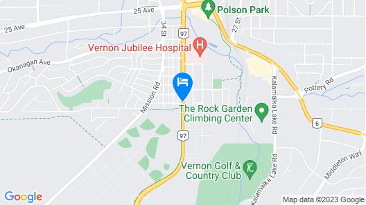 Tel a Frend Motel Map