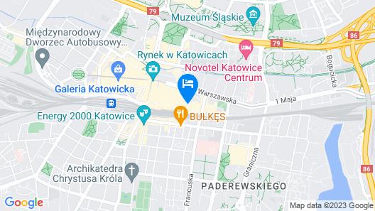 Best Western Hotel Mariacki Map