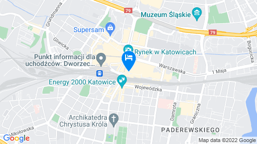 Diament Plaza Katowice Map