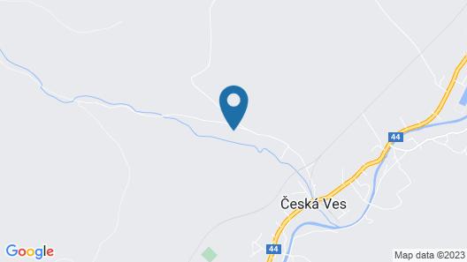 Chaty pod Sokolím Hřbetem Map