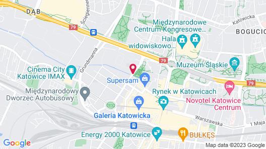 Vienna House Easy Katowice Map