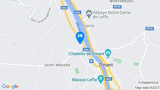 Splendid Palace Dinant Hostel Map
