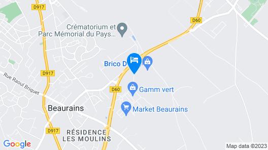 ACE Hotel Arras-Beaurains Map
