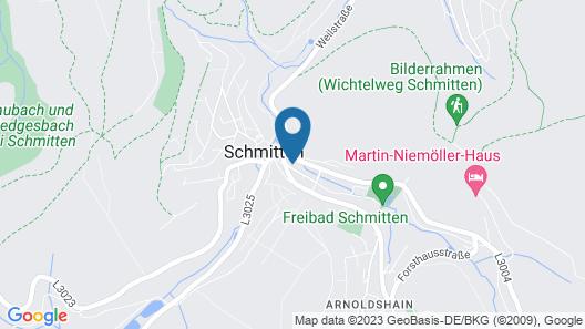 Ringhotel Kurhaus Ochs Map
